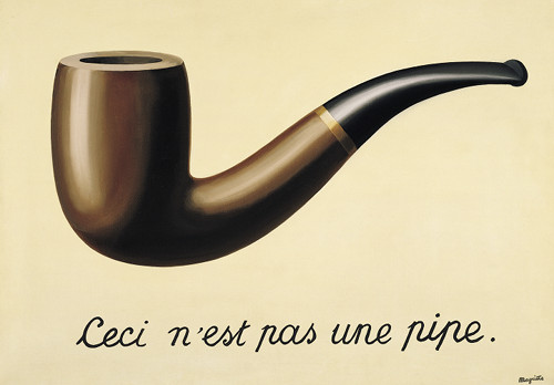 Magritte-Treachery of Images